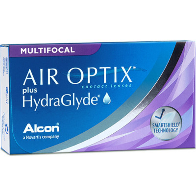 Air Optix plus HydraGlyde Multifocal (3 lentillas)