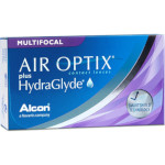 Air Optix plus HydraGlyde Multifocal (6 lentillas)