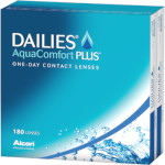 Dailies AquaComfort Plus (180 lentillas)