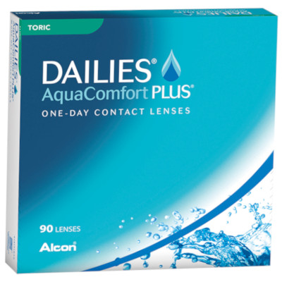 Dailies AquaComfort Plus tóricas (90 lentillas)