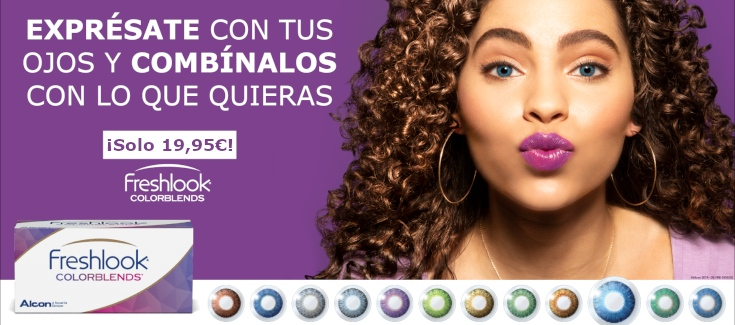 Freshlook Colorblends Promo