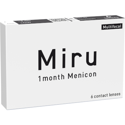 Miru 1 month Menicon Multifocal (6 lentillas)