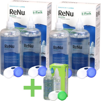 ReNu MultiPlus Pack Ahorro (4 x 360ml)